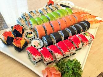 С чем можно сделать суши?