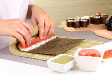 Чем заменить коврик для суши?
